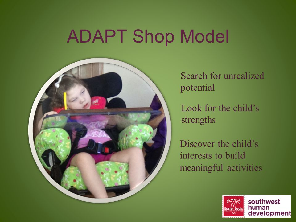 ADAPT Shop Model Search for unrealized potential