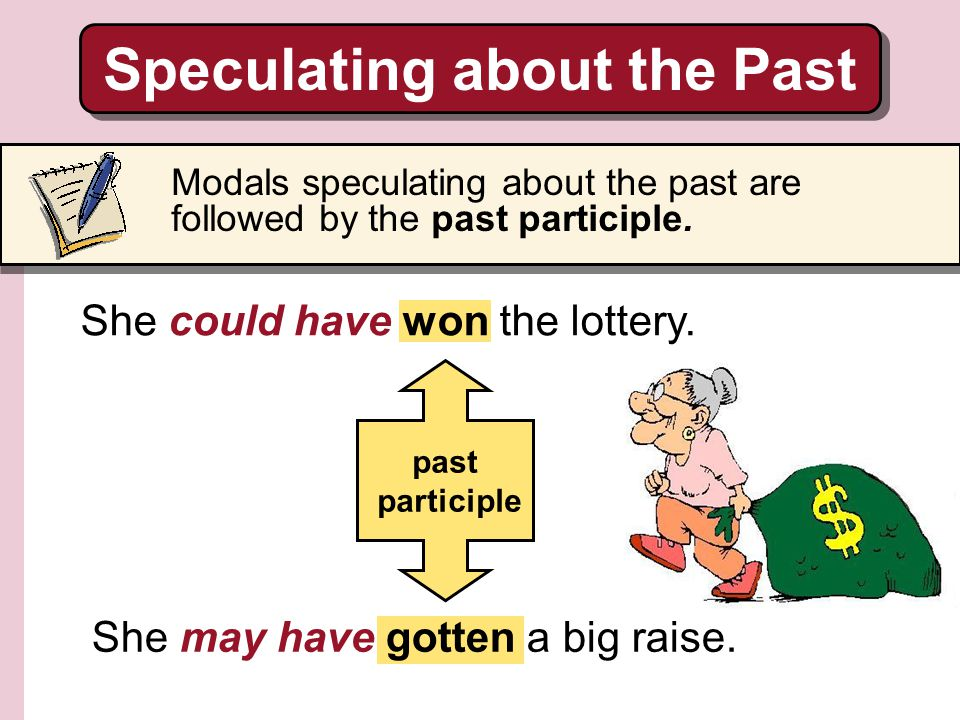 Speculating about the Past
