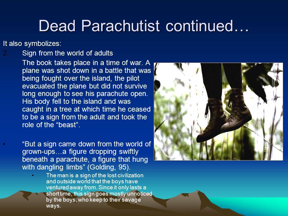 Dead Parachutist continued…