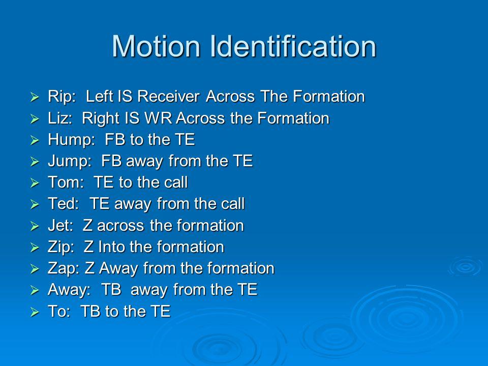 Motion Identification