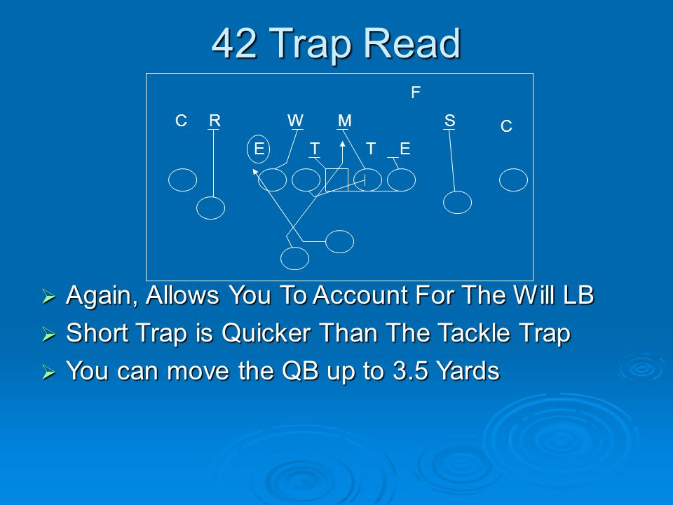 42 Trap Read Again, Allows You To Account For The Will LB
