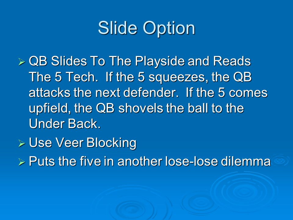 Slide Option