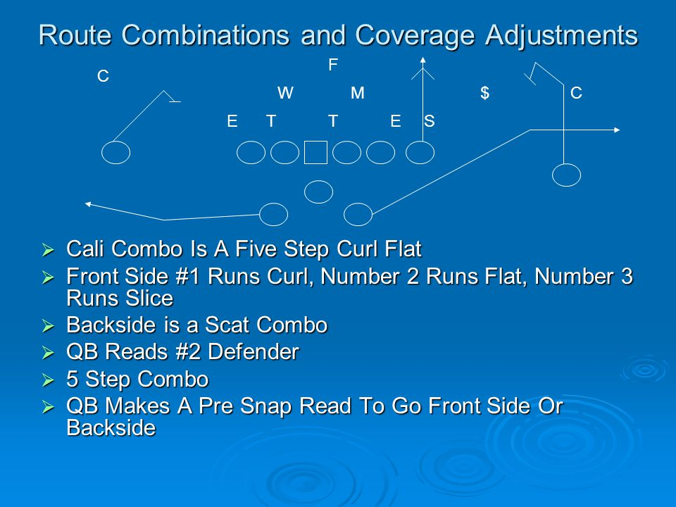 Route Combinations and Coverage Adjustments