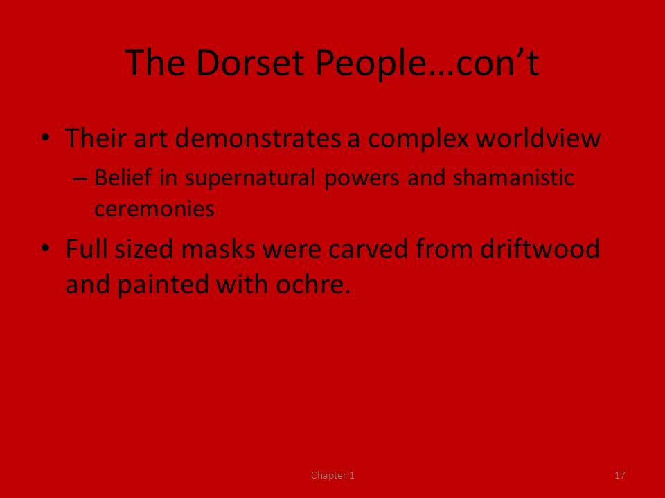 The Dorset People…con't