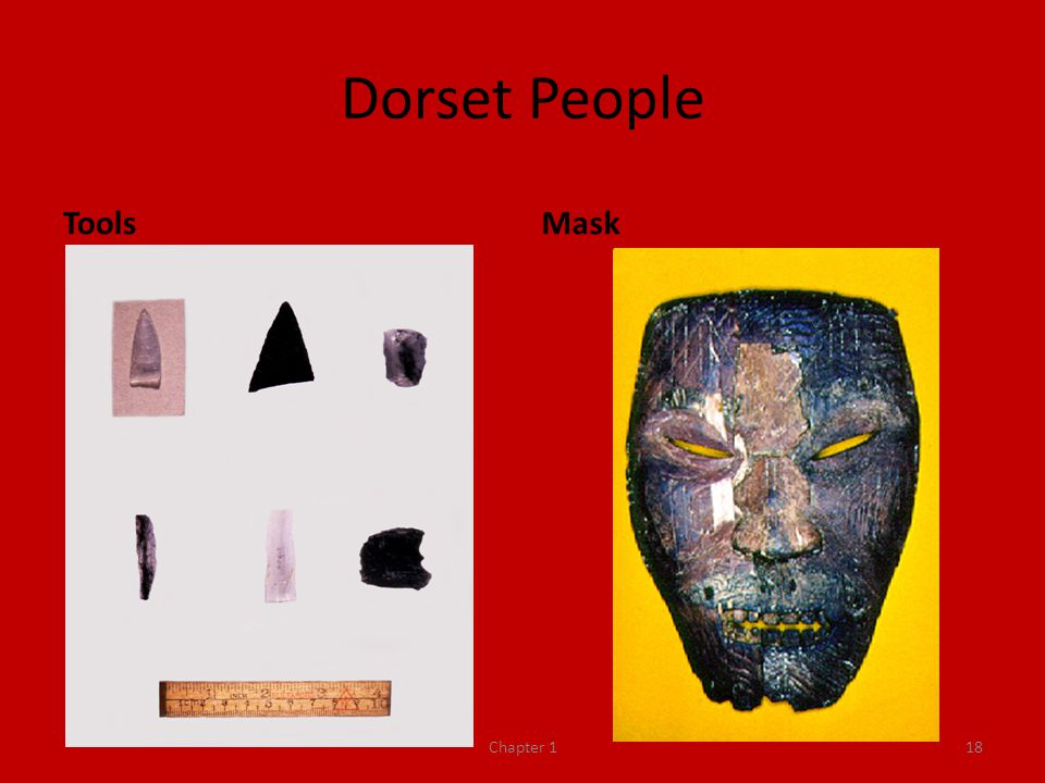 Dorset People Tools Mask Chapter 1
