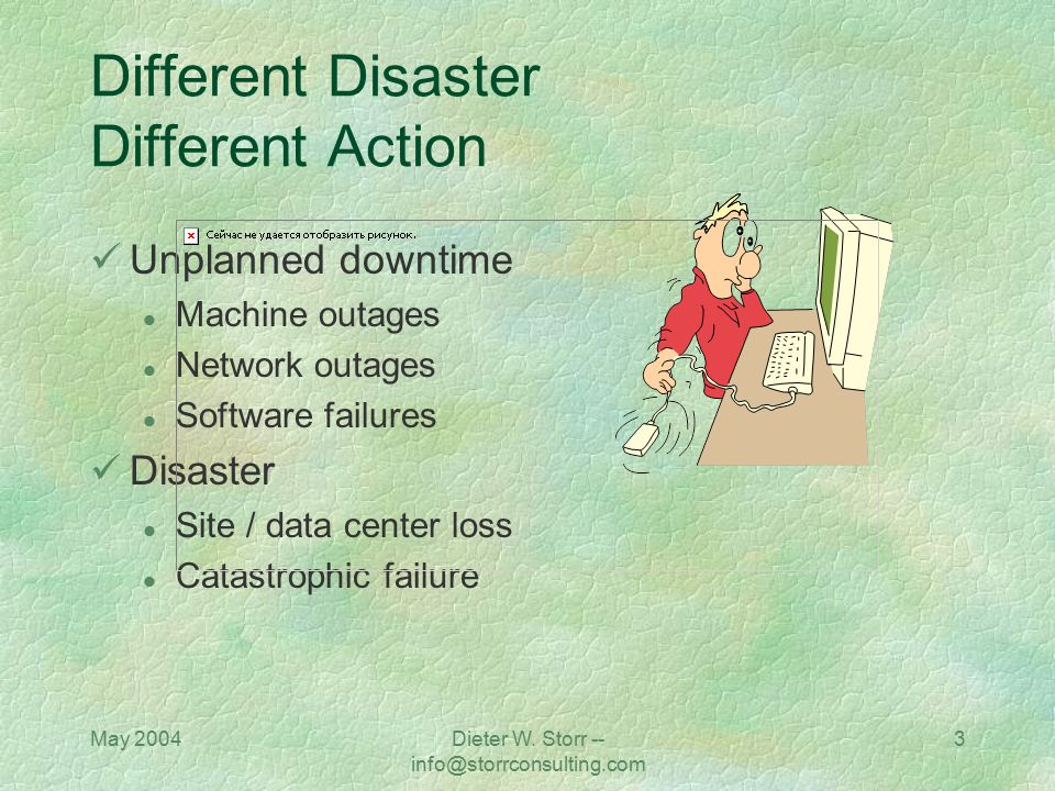 Different Disaster Different Action