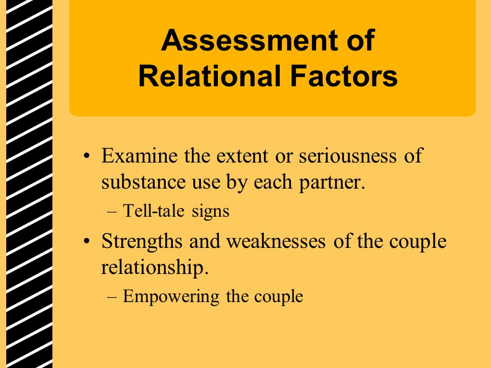 Assessment of Relational Factors