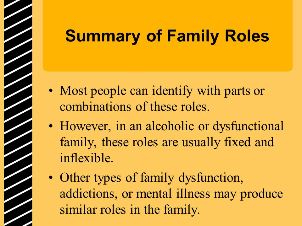 Summary of Family Roles