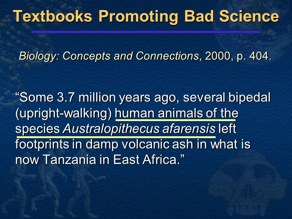 Textbooks Promoting Bad Science