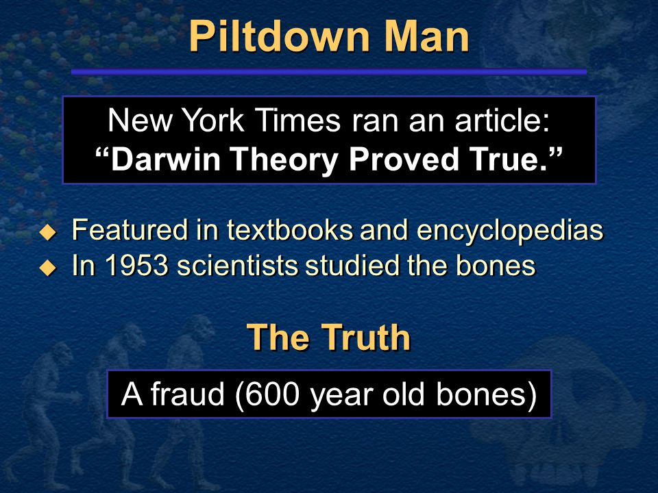 Darwin Theory Proved True.