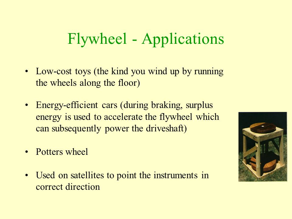 Flywheel - Applications