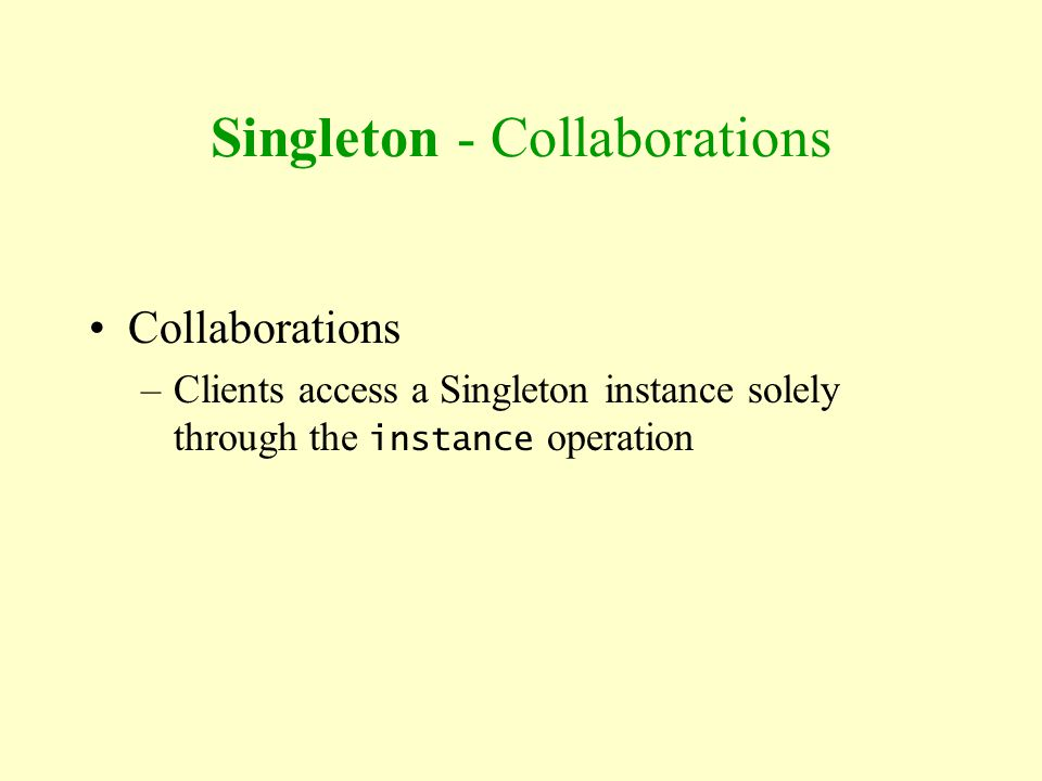 Singleton - Collaborations