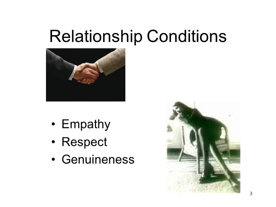 Relationship Conditions
