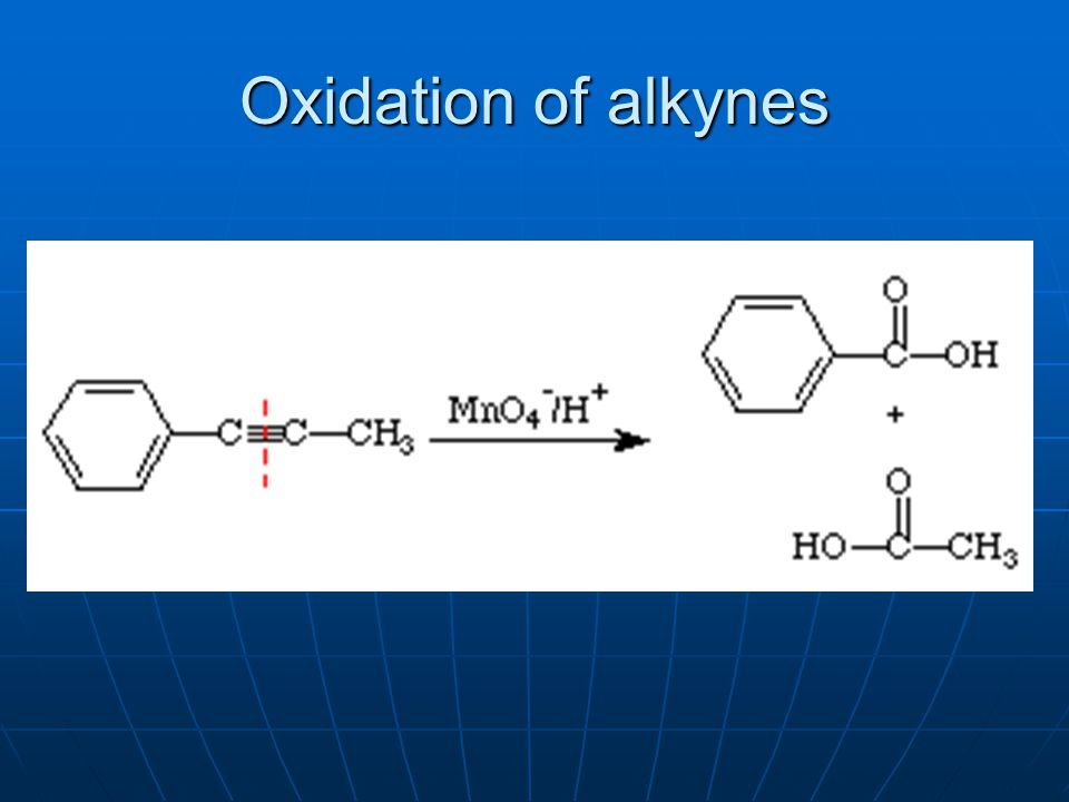 Oxidation of alkynes