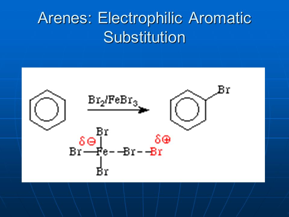 Arenes: Electrophilic Aromatic Substitution
