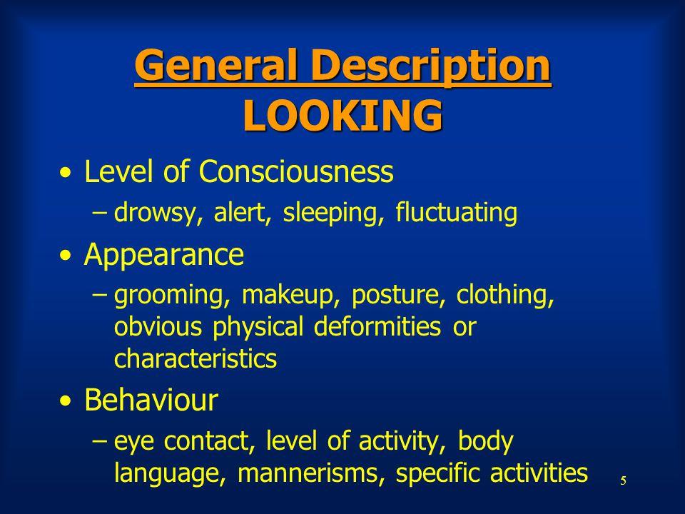 General Description LOOKING