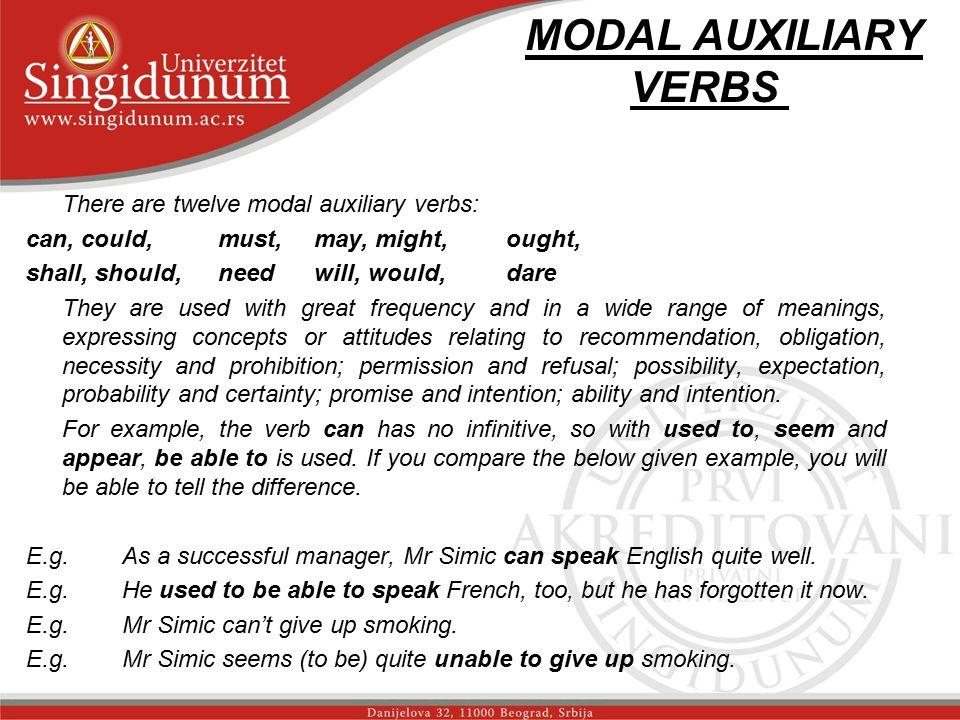 MODAL AUXILIARY VERBS _str.1