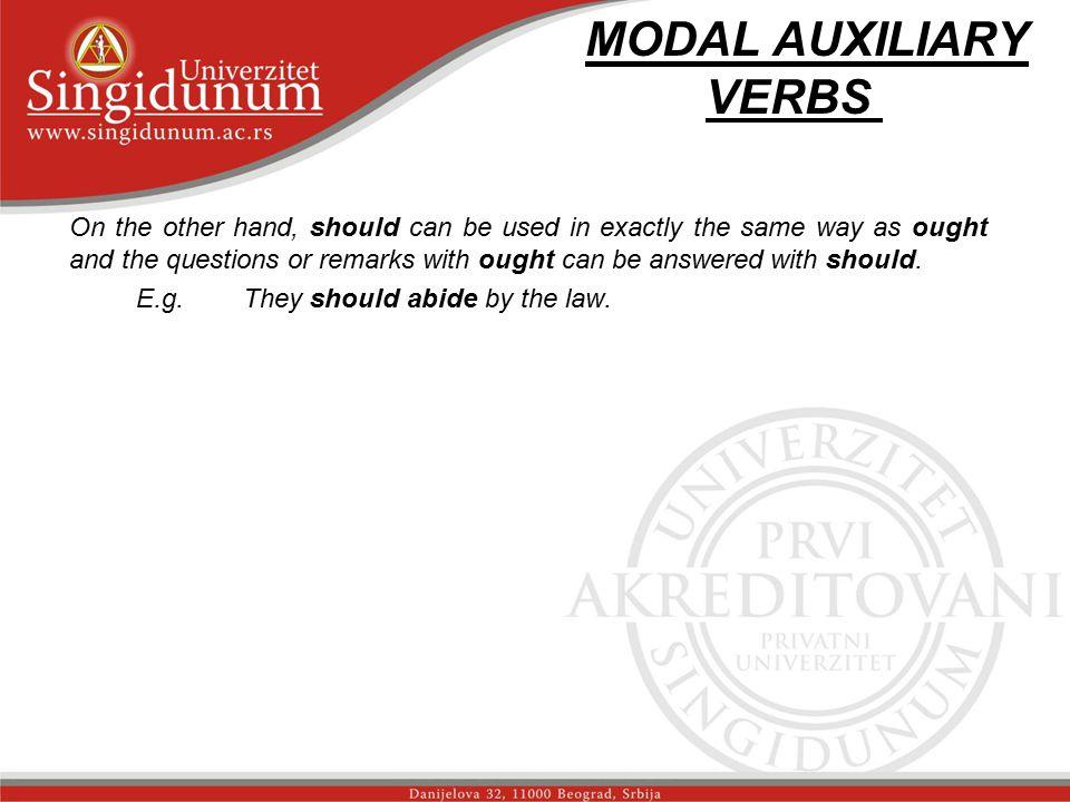 MODAL AUXILIARY VERBS str.4