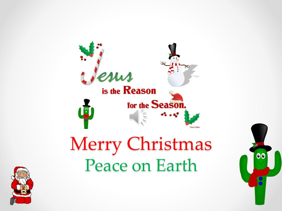 Merry Christmas Peace on Earth