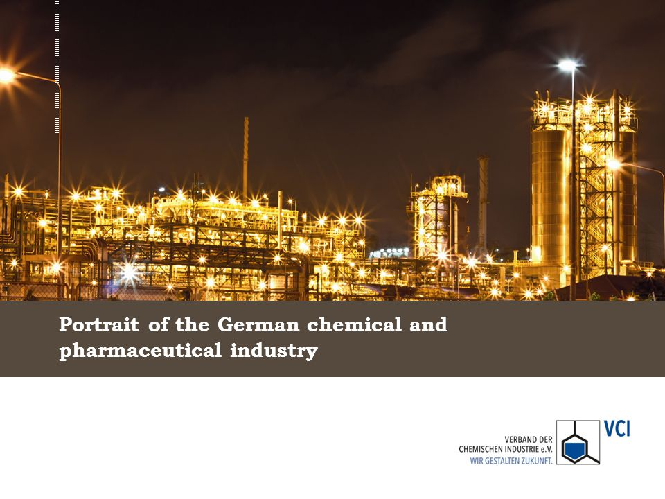 Portrait of the German chemical and pharmaceutical industry
