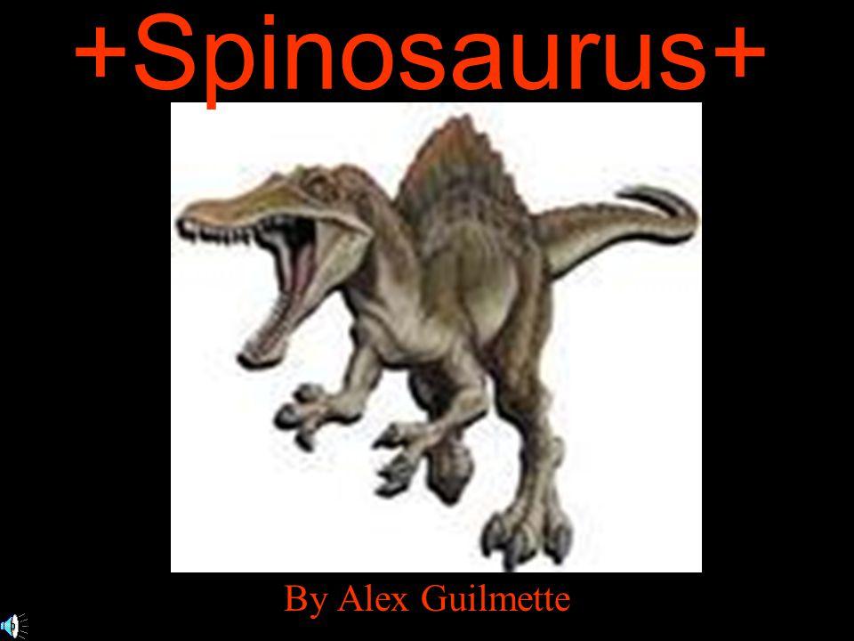 +Spinosaurus+ By Alex Guilmette