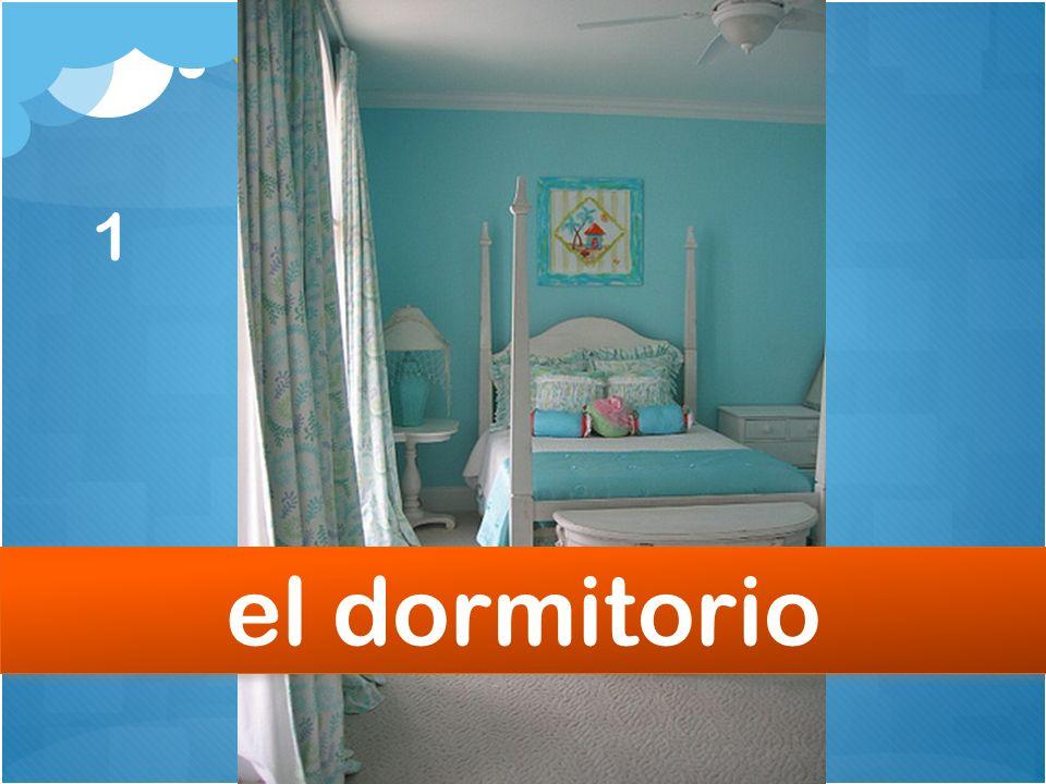 1 el dormitorio