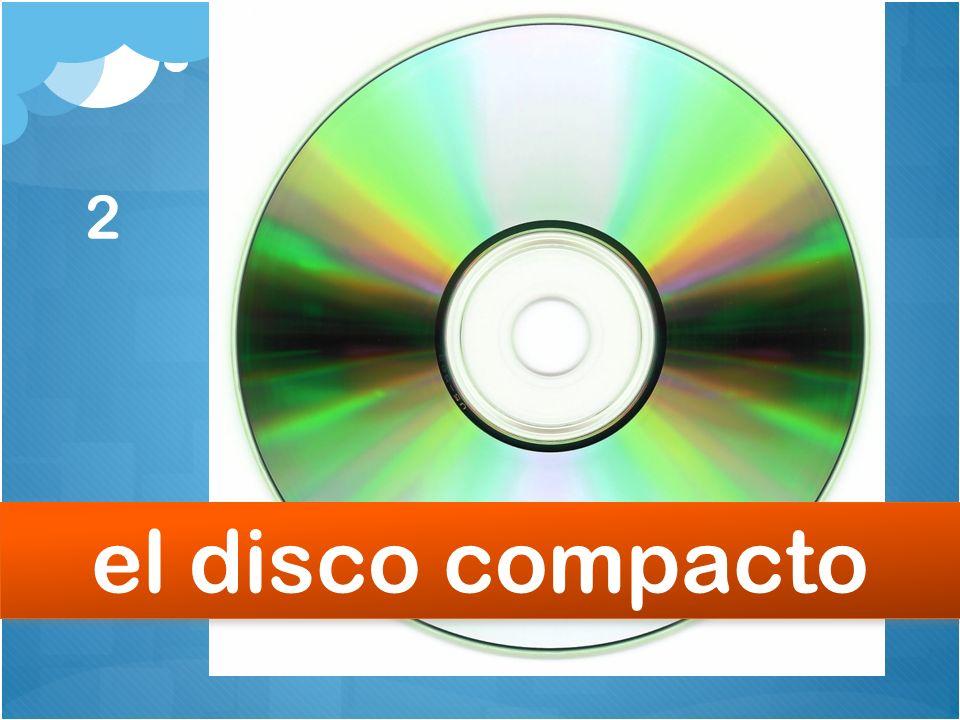 2 el disco compacto