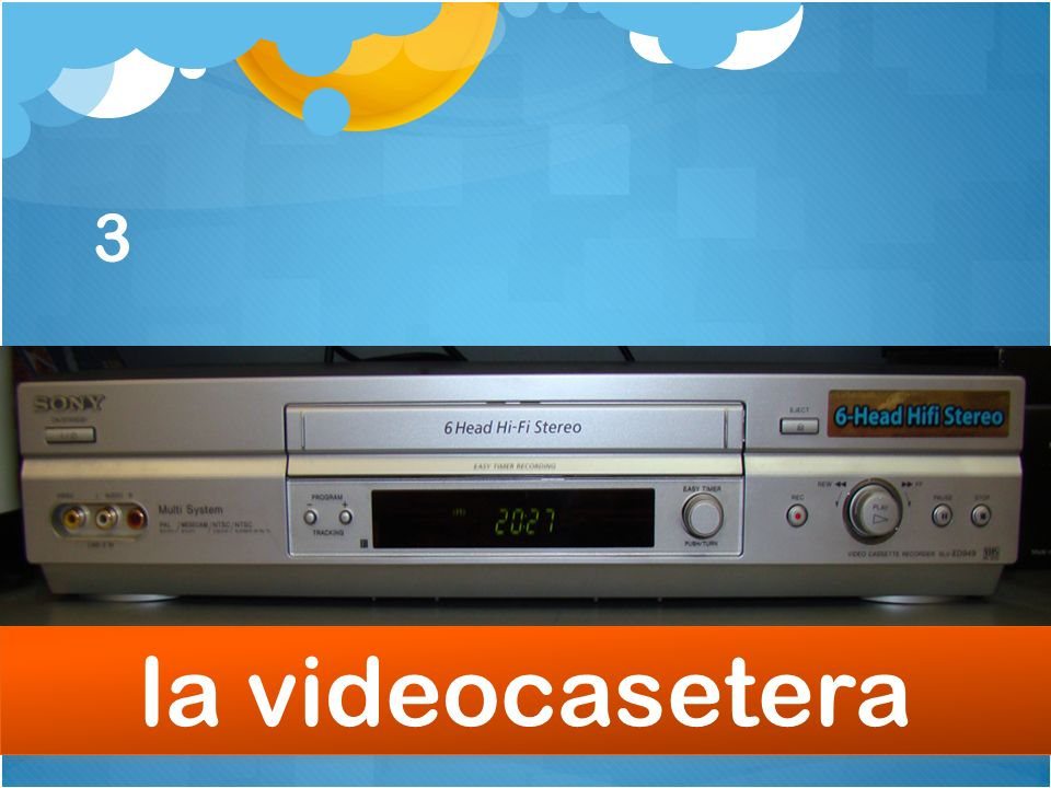 3 la videocasetera