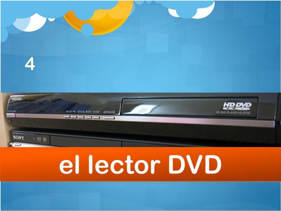 4 el lector DVD