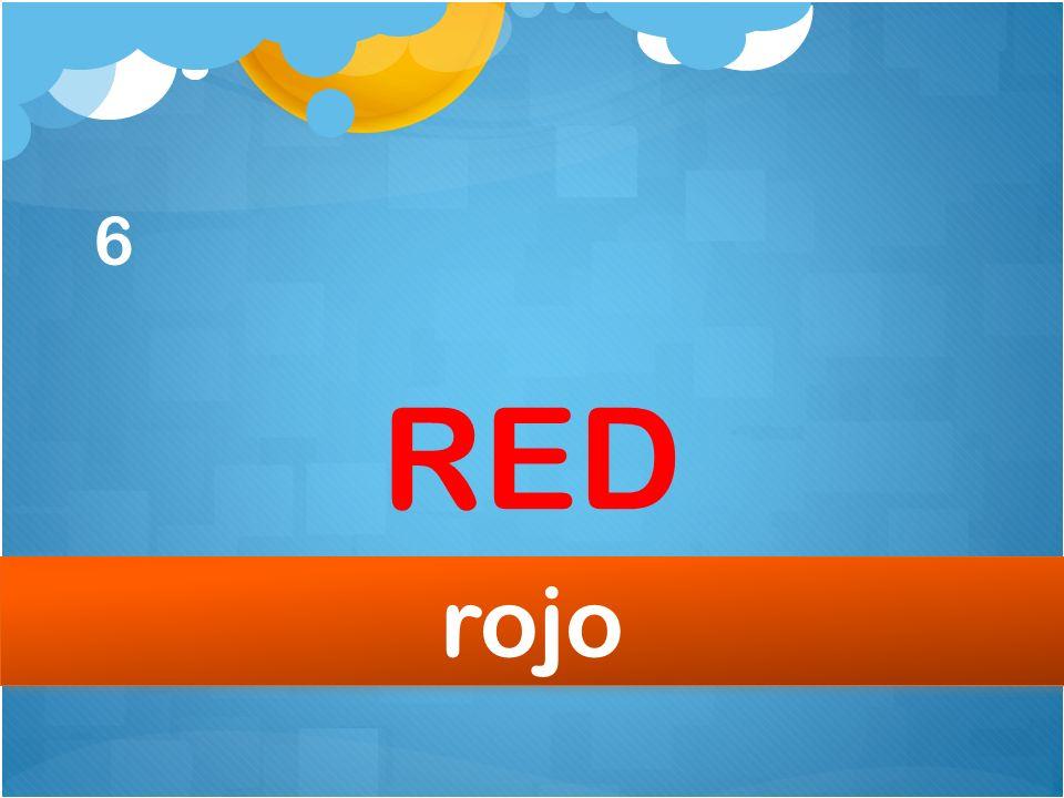 6 RED rojo