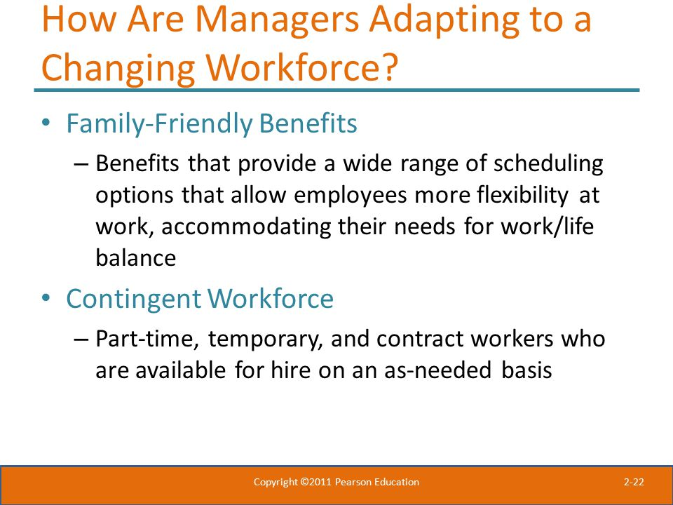 How Are Managers Adapting to a Changing Workforce