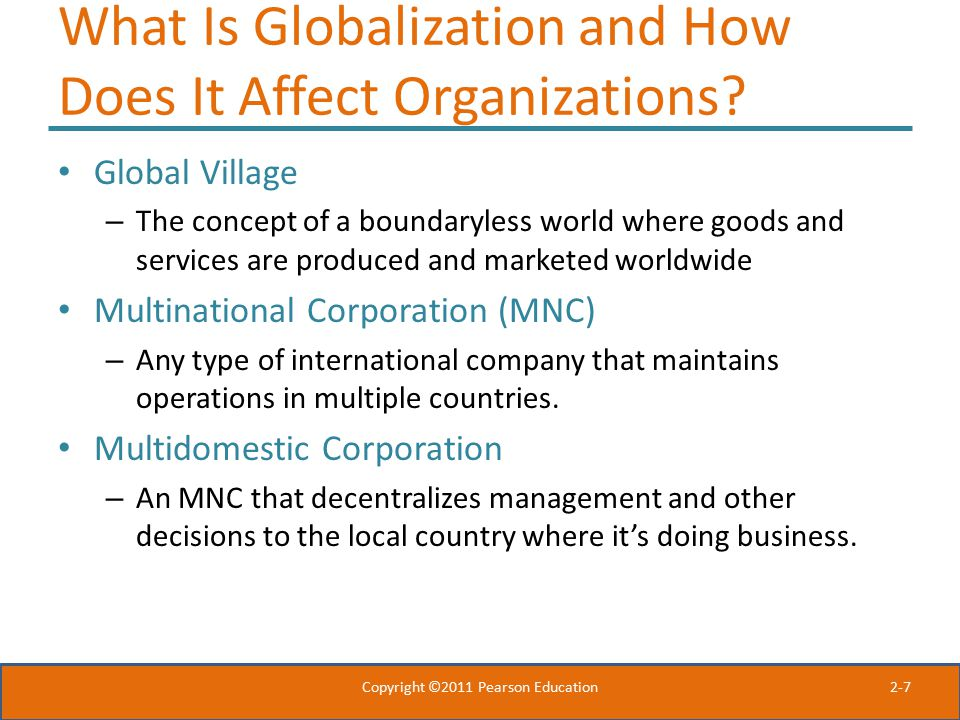 What is a Multinational Company?