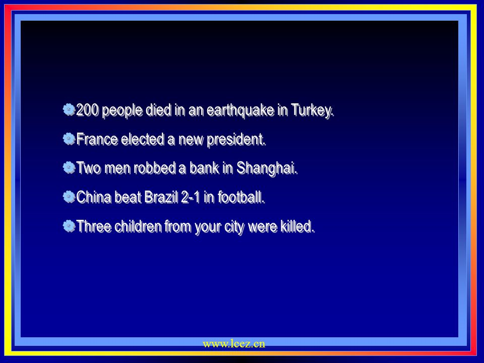 200 people died in an earthquake in Turkey.
