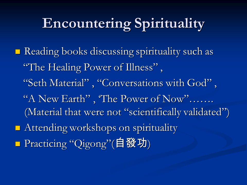 Encountering Spirituality