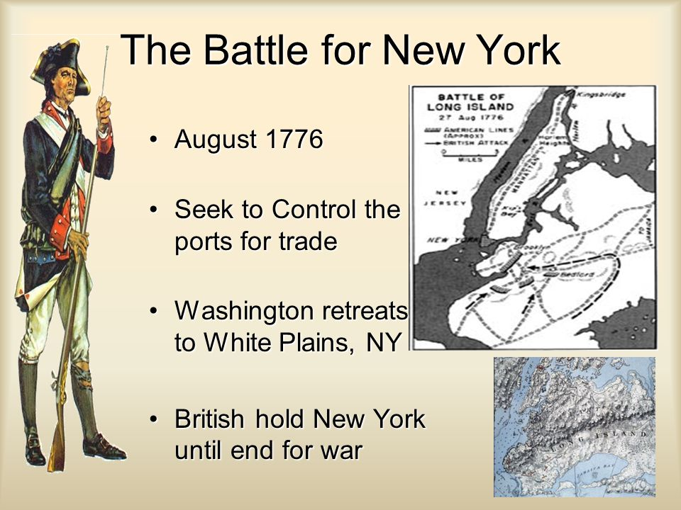 The Battle for New York August 1776