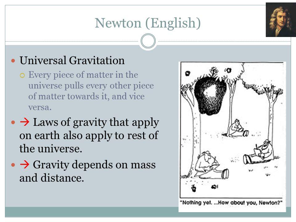 Newton (English) Universal Gravitation