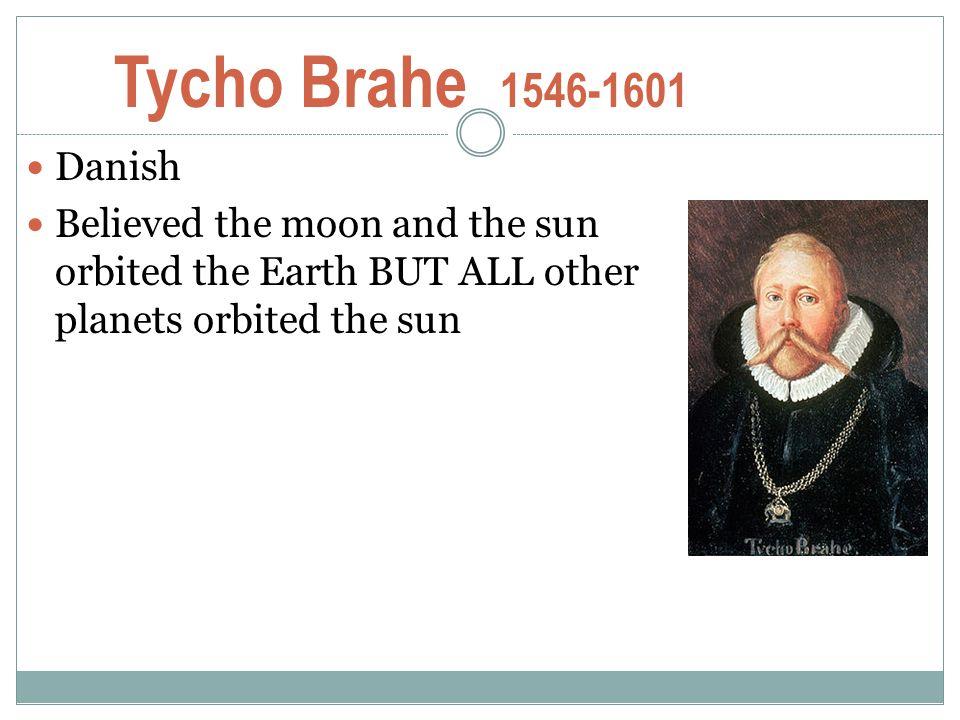 Tycho Brahe 1546-1601 Danish.
