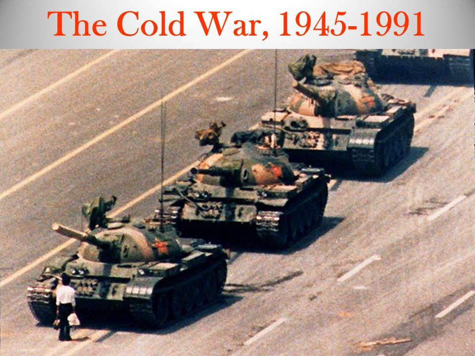 The Cold War, 1945-1991