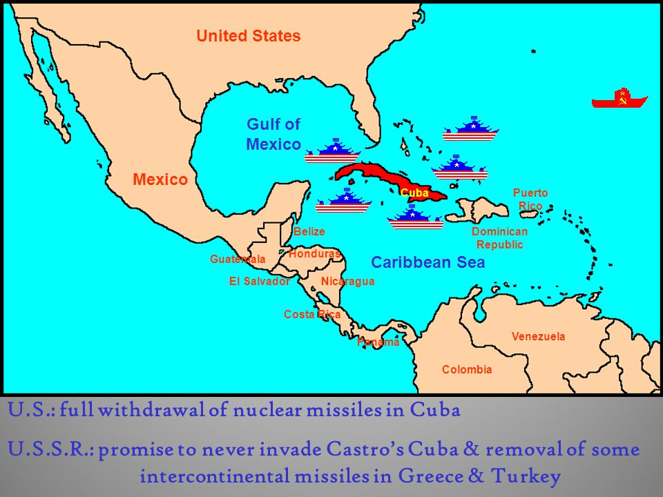 U.S.: full withdrawal of nuclear missiles in Cuba