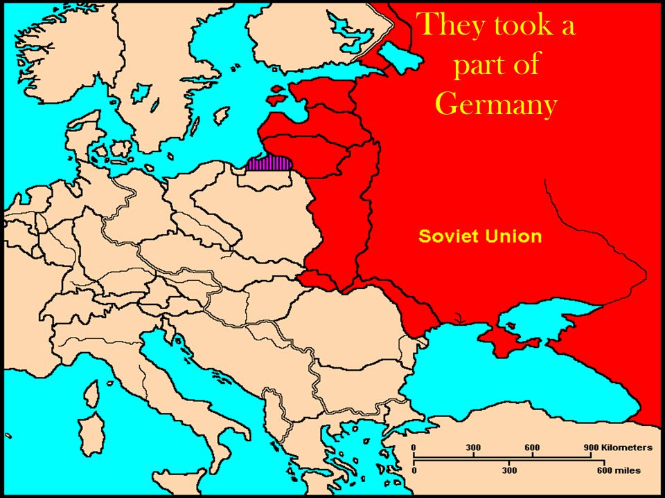 They took a part of Germany