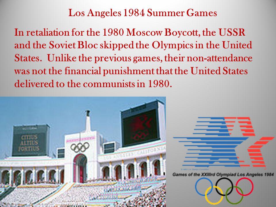 Los Angeles 1984 Summer Games