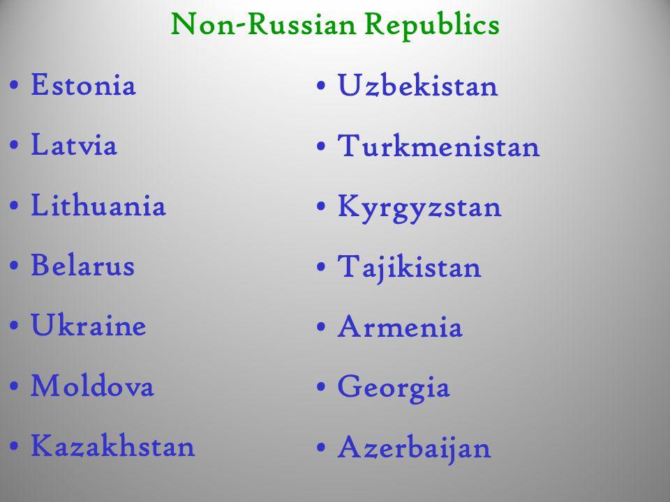 Non-Russian Republics
