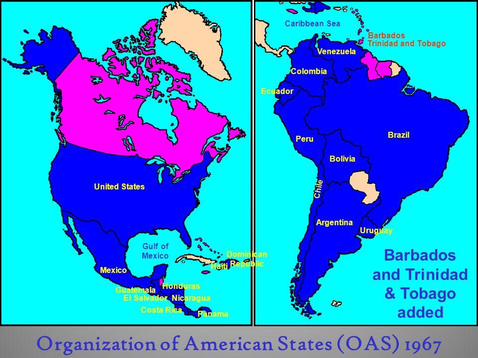 Organization of American States (OAS) 1967
