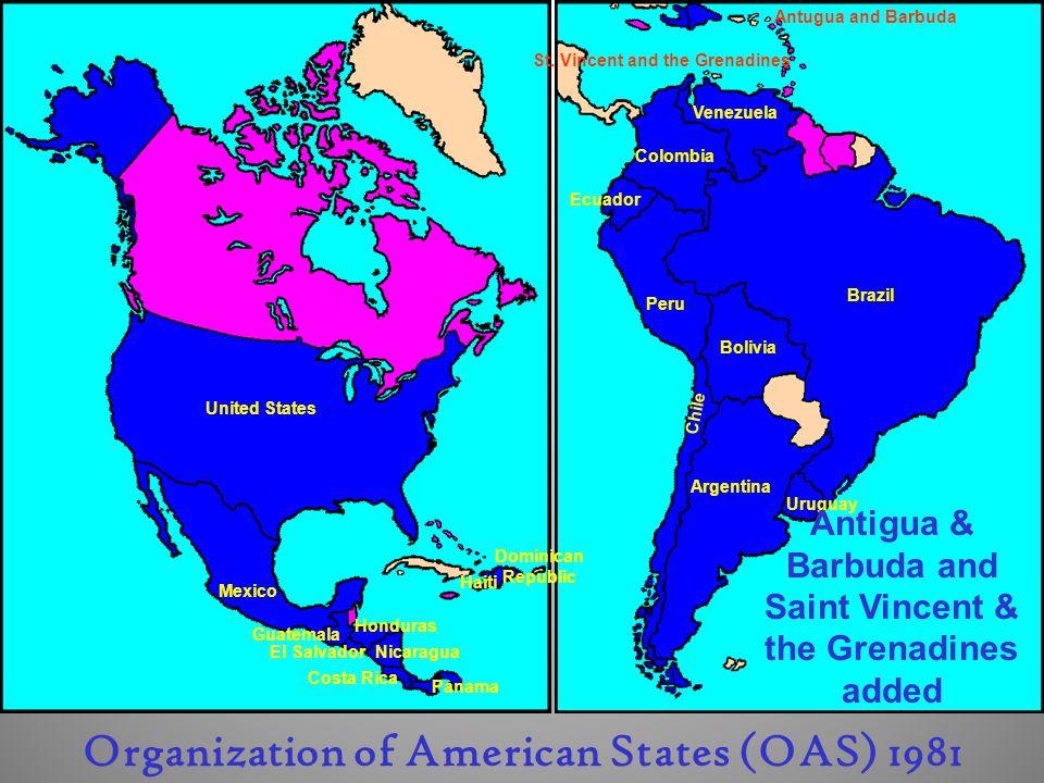 Organization of American States (OAS) 1981