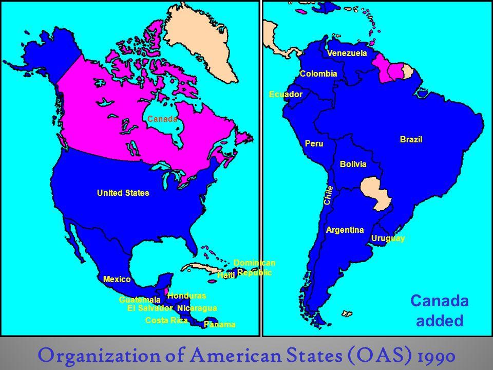 Organization of American States (OAS) 1990
