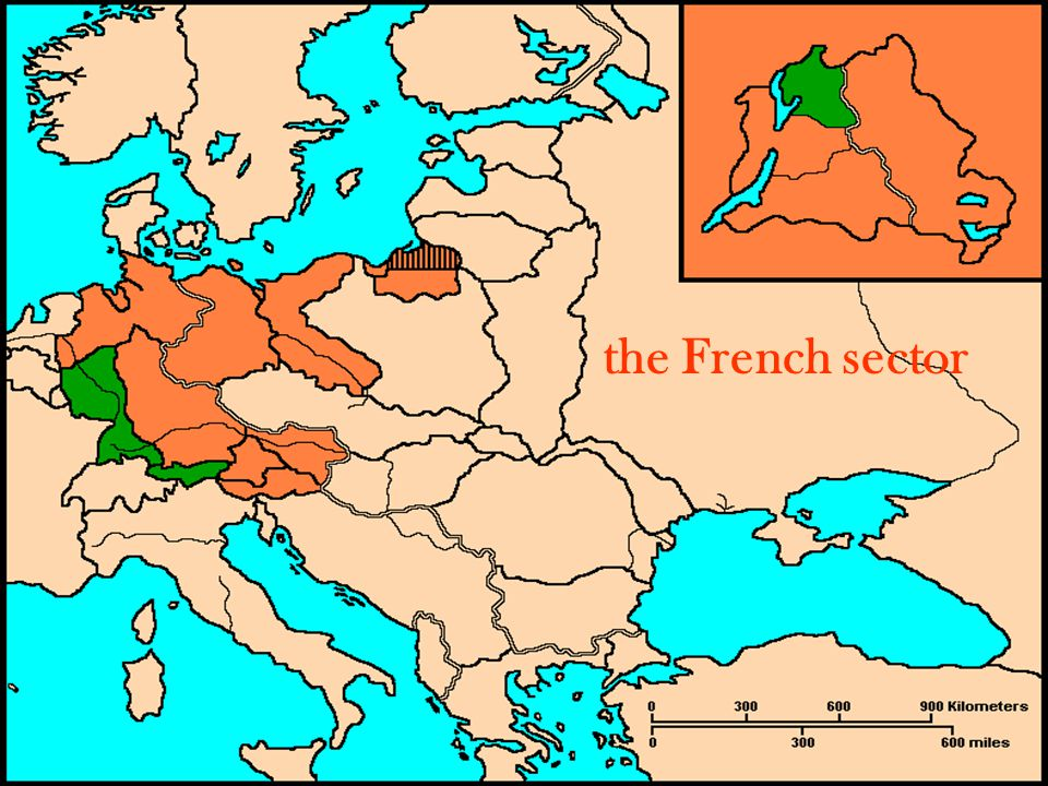 the French sector