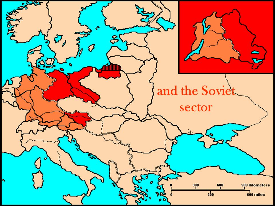 and the Soviet sector