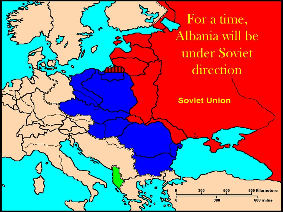 For a time, Albania will be under Soviet direction