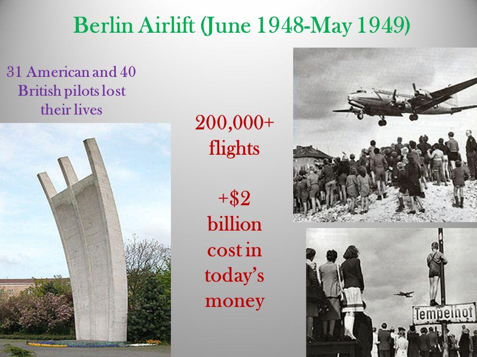 Berlin Airlift (June 1948-May 1949)
