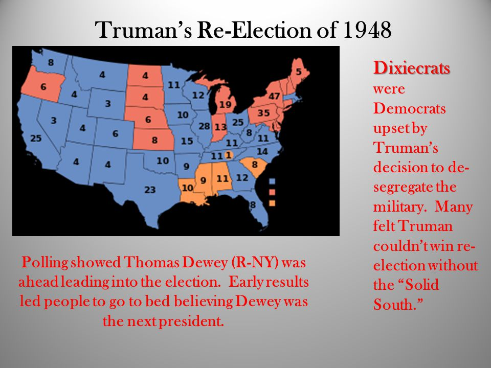 Truman's Re-Election of 1948
